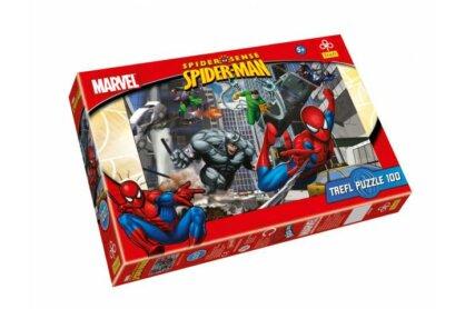 Trefl 16158 - Pókember - Marvel támadás - 100 db-os puzzle