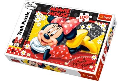 Trefl 16193 - Minnie Mouse - 100 db-os puzzle