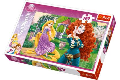 Trefl 16199 - Bátor hercegnők - 100 db-os puzzle