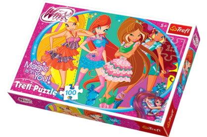 Trefl 16247 - Winx Club - Barátok - 100 db-os puzzle
