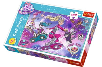 Trefl 16296 - Barbie Star Light Adventure - 100 db-os puzzle