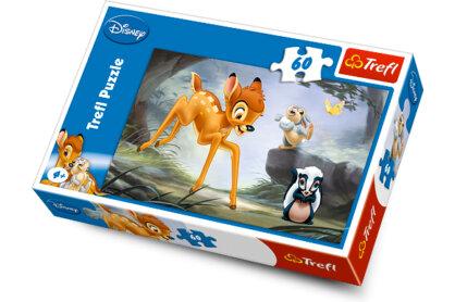 Trefl 17157 - Bambi - Az erdei tanács - 60 db-os puzzle