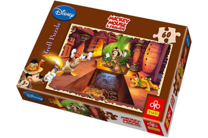 Trefl 17178 - Mickey egér kalandja - 60 db-os puzzle