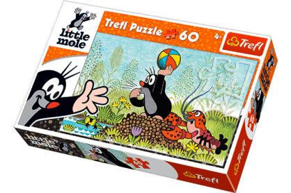 Trefl 17234 - Kisvakond - Játsszunk! - 60 db-os puzzle