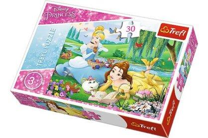 Trefl 18223 - Disney Princess - Belle és Hamupipőke - 30 db-os puzzle