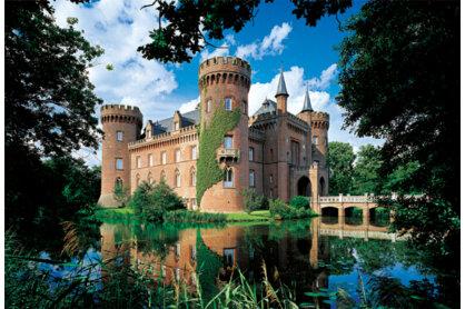 Trefl 26074 - Moyland kastély, Észak-Rajna - 1500 db-os puzzle