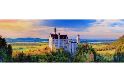 Trefl 29028 - Panoráma puzzle - Neuschwanstein kastély - 1000 db-os puzzle