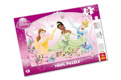 Trefl 31112 - Princess - Tavaszi tánc - 15 db-os keretes puzzle