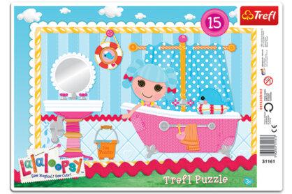 Trefl 31161 - Lalaloopsy - Marina fürdőzik - 15 db-os keretes puzzle