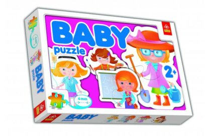 Trefl 36033 - Szakmák - Baby puzzle