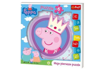 Trefl 36116 - Peppa malac - 6 db-os Baby Fun Első puzzle