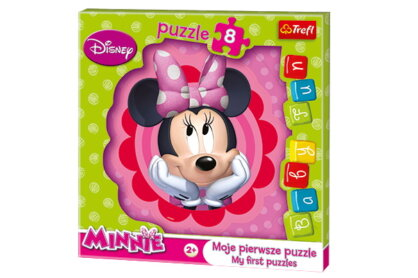 Trefl 36117 - Minnie Mouse - 8 db-os Baby Fun Első puzzle