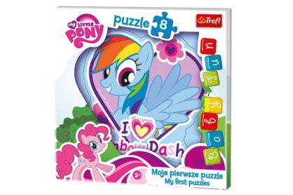 Trefl 36118 - Rainbow Dash - 8 db-os Baby Fun Első puzzle