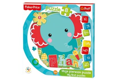 Trefl 36119 - Elefánt - 8 db-os Baby Fun Első puzzle