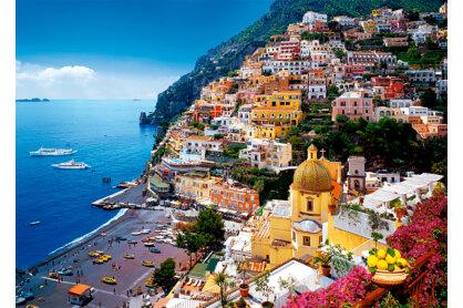 Trefl 37145 - Positano, Amalfi-part, Olaszország - 500 db-os puzzle