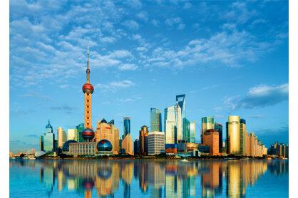 Trefl 37163 - Shanghai, Kína - 500 db-os puzzle