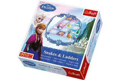 Trefl 01206 - Jégvarázs - Kígyók és létrák társasjáték