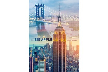Trefl 10393 - New York City hajnalban - 1000 db-os puzzle