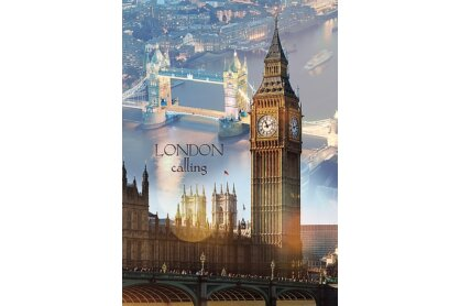 Trefl 10395 - London hajnalban - 1000 db-os puzzle