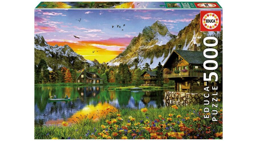 Educa 17678 puzzle a web ruh zban for Custom 5000 piece puzzle